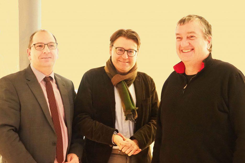 MdL Daniel Renkonen besucht die Bürgerinitiative
